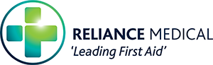 Reliance Medical logo.